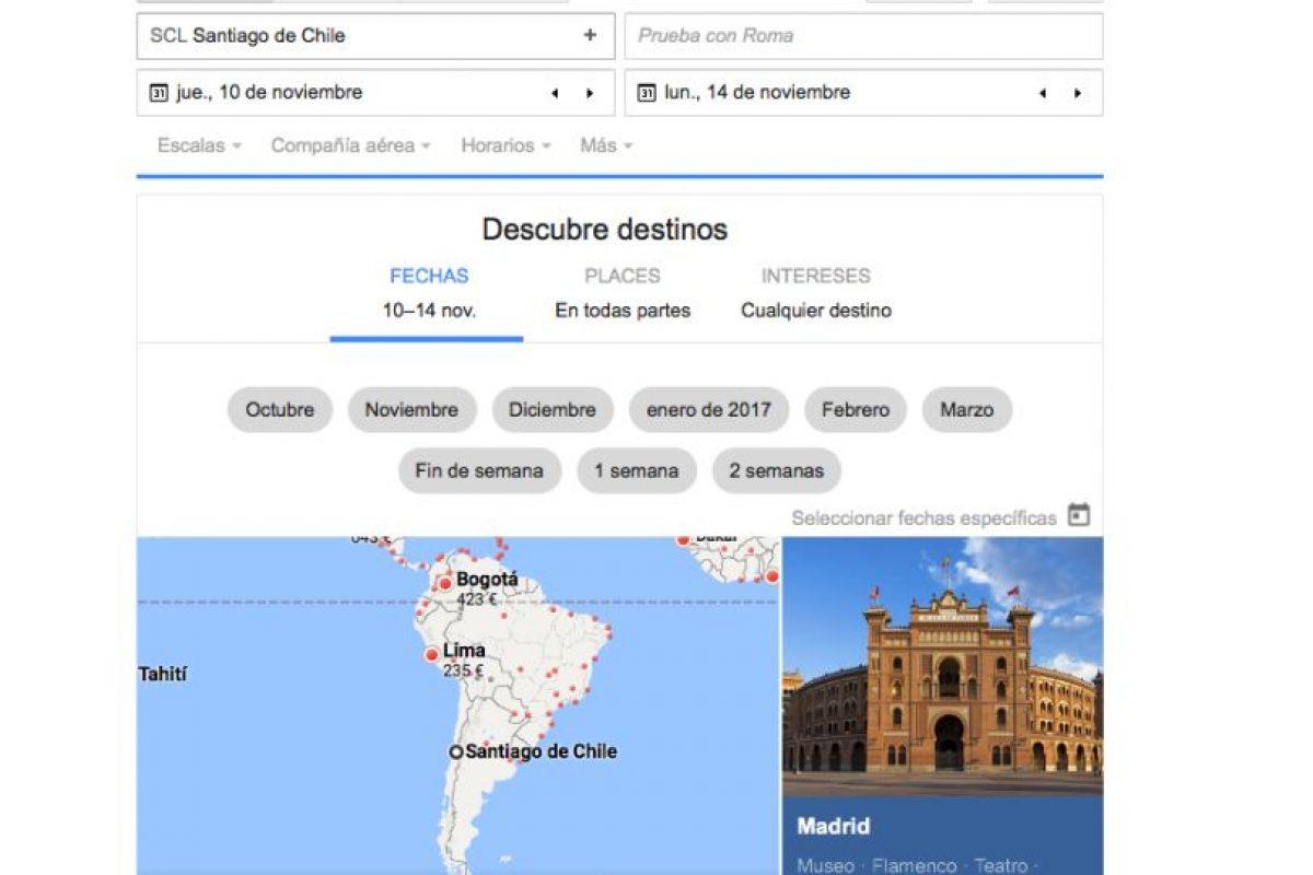 Foto:Google Flight. Imagen Por: