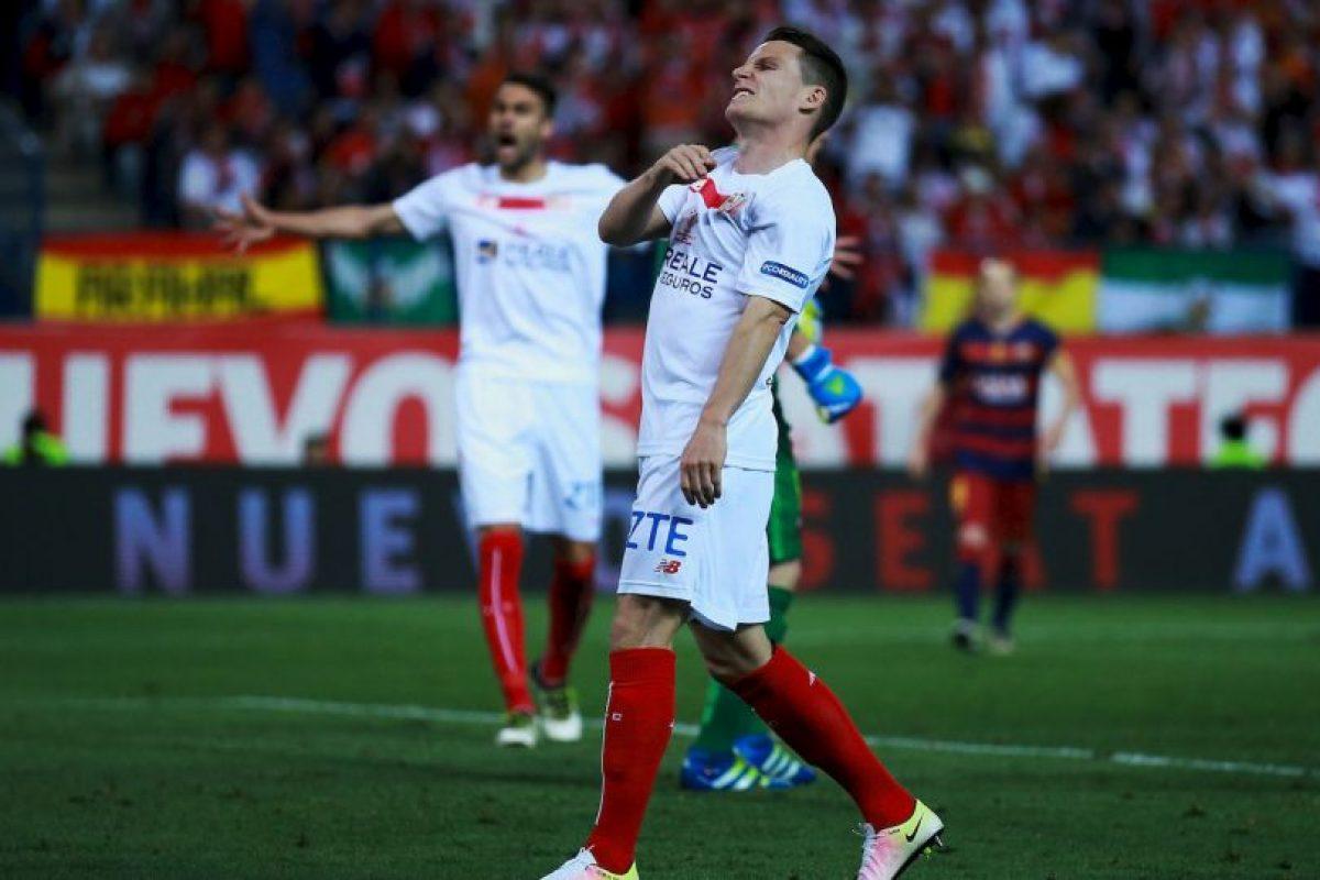Kevin Gameiro (Sevilla, actualmente en Atlético de Madrid) Foto:Getty Images. Imagen Por: