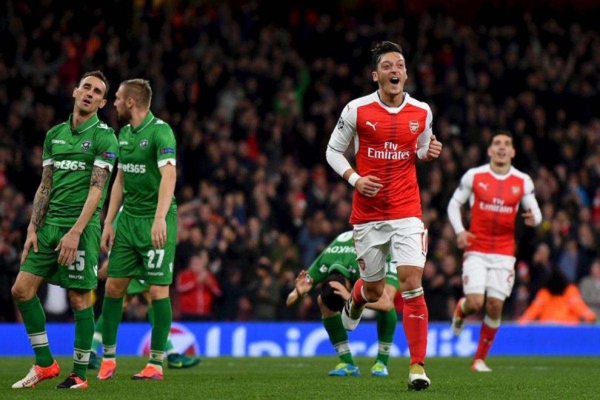 Mesut Özil (Arsenal) Foto:Getty Images. Imagen Por: