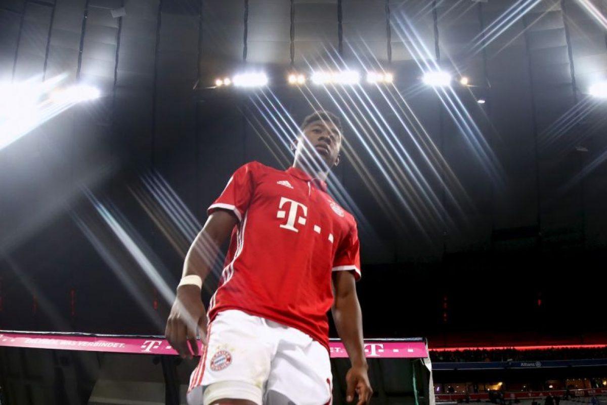 David Alaba (Bayern Munich) Foto:Getty Images. Imagen Por: