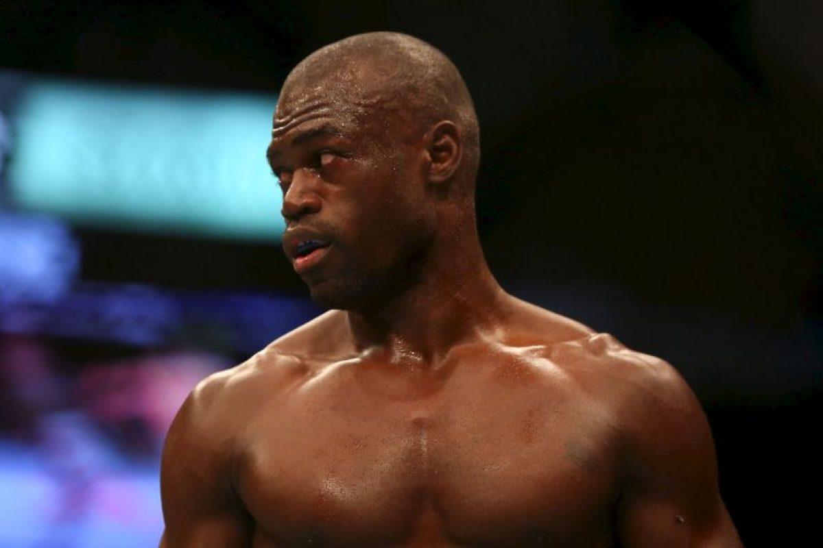 Uriah Hall. Llegaba tan golpeado del colegio que su madre lo metió a practicar artes marciales Foto:Getty Images. Imagen Por: