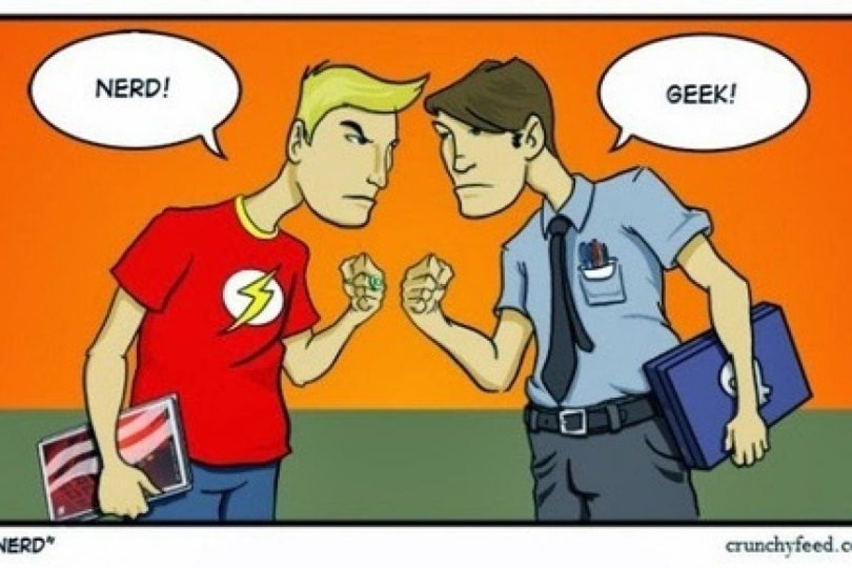 Los geeks son confundidos con los nerds, pero pertenecen a grupos completamente diferentes. Foto:crunchyfeed.com. Imagen Por: