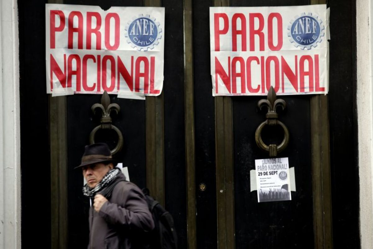 La movilización ccomenzará este miércoles tras no llegar a un acuerdo por el reajuste salarial con el Gobierno. Foto:Agencia UNO / Archivo. Imagen Por: