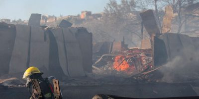 Vallenar: Incendio se encuentra confinado hasta ahora