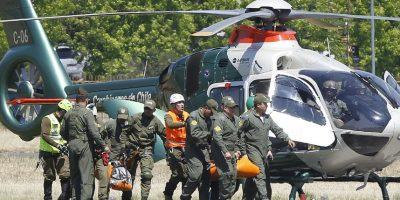 Fiscal confirma que cuerpos encontrados en cerro Provincia corresponden a Vicente Charpentier y Joaquín Castillo