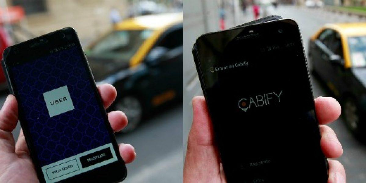 Uber y Cabify critican exigencias incluidas en proyecto del Gobierno