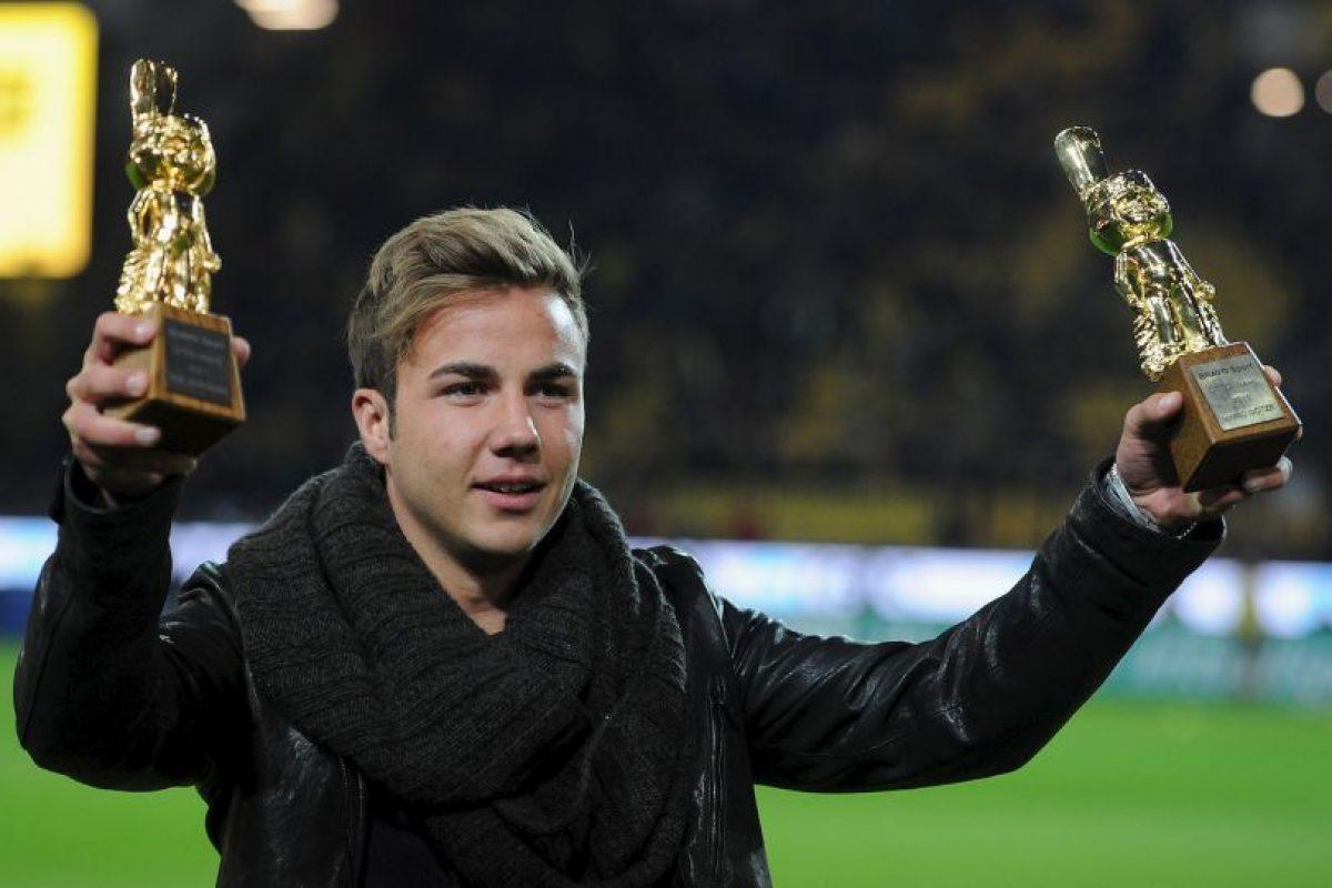Mario Gotze (Ganador en 2011-Borussia Dortmund, actualmente en Borussia Dortmund): Su buen nivel en Borussia Dortmund lo llevó a ser fichado por Bayern Munich, lo que generó el odio de los hinchas por haberse cambiado al archirrival. Su 'traición' parece haberle costado caro y nunca se afirmó como titular en los bávaros. Pese a eso, se las ingenió para entrar en la historia marcando el gol que le dio el título del Mundial 2014 a Alemania. Sin embargo, a nivel de clubes no ha rendido como se esperaba y ahora volvió a Borussia Dortmund, donde tampoco es titular Foto:Getty Images. Imagen Por: