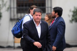 Ernesto Velasco, presidente radical Foto:AgenciaUno. Imagen Por: