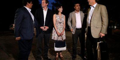 Piñera festeja en su casa el triunfo de Chile Vamos en las municipales