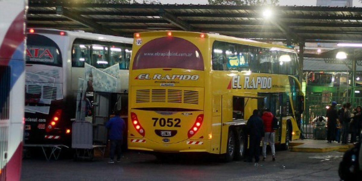 Sernac denunció a 30 empresas de buses por incumplimientos a ley del consumidor