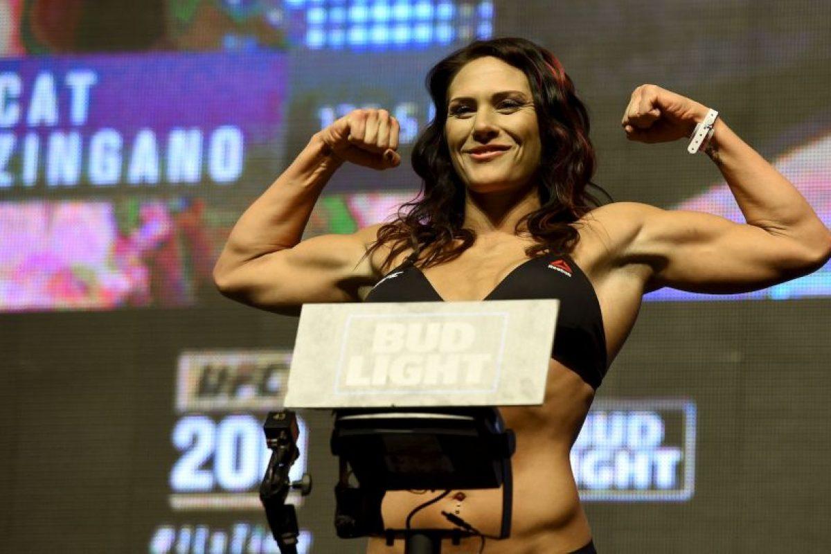 """Cat Zingano. La peleadora de UFC lanzó un reto a la ganadora de """"Hell in a Cell"""" Foto:Getty Images. Imagen Por:"""
