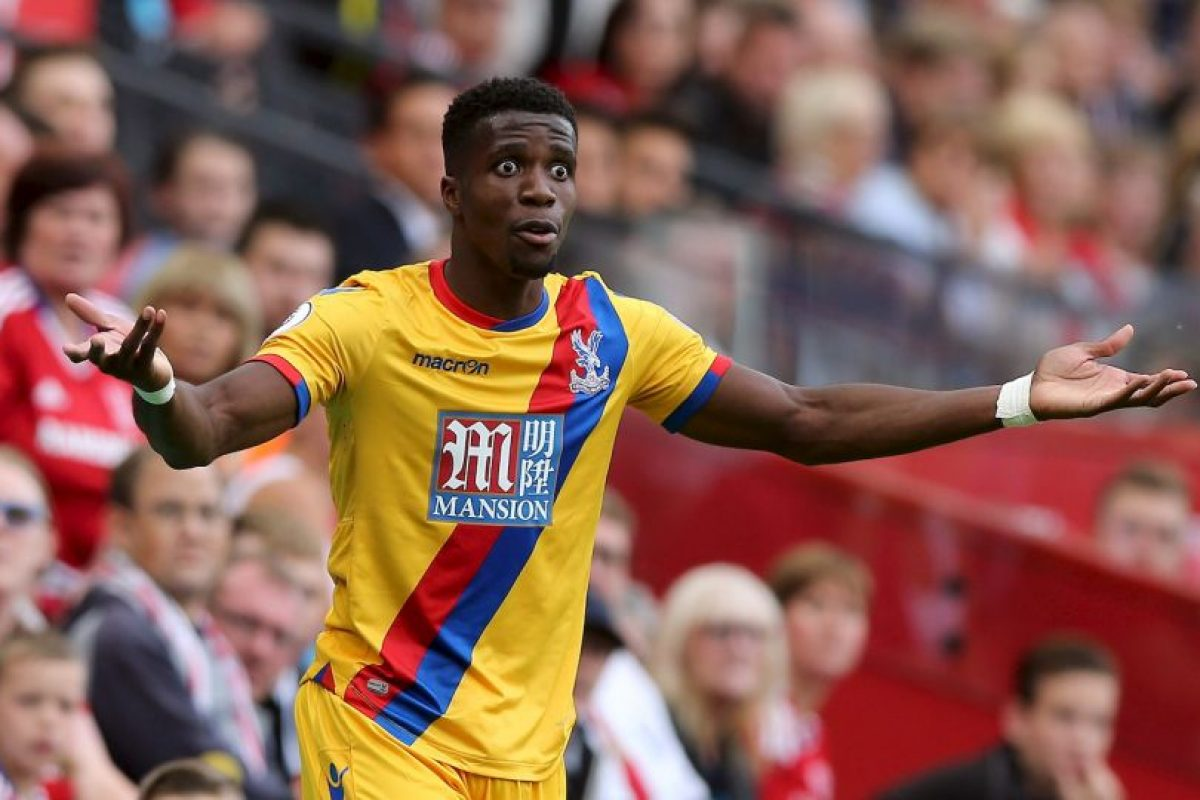 10.Wilfried Zaha (Crystal Palace) – 34.79 km/h Foto: Getty images. Imagen Por: