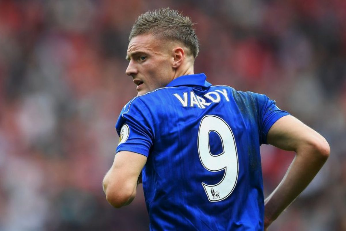 4.Jamie Vardy (Leicester) – 35.1 km/h Foto: Getty images. Imagen Por: