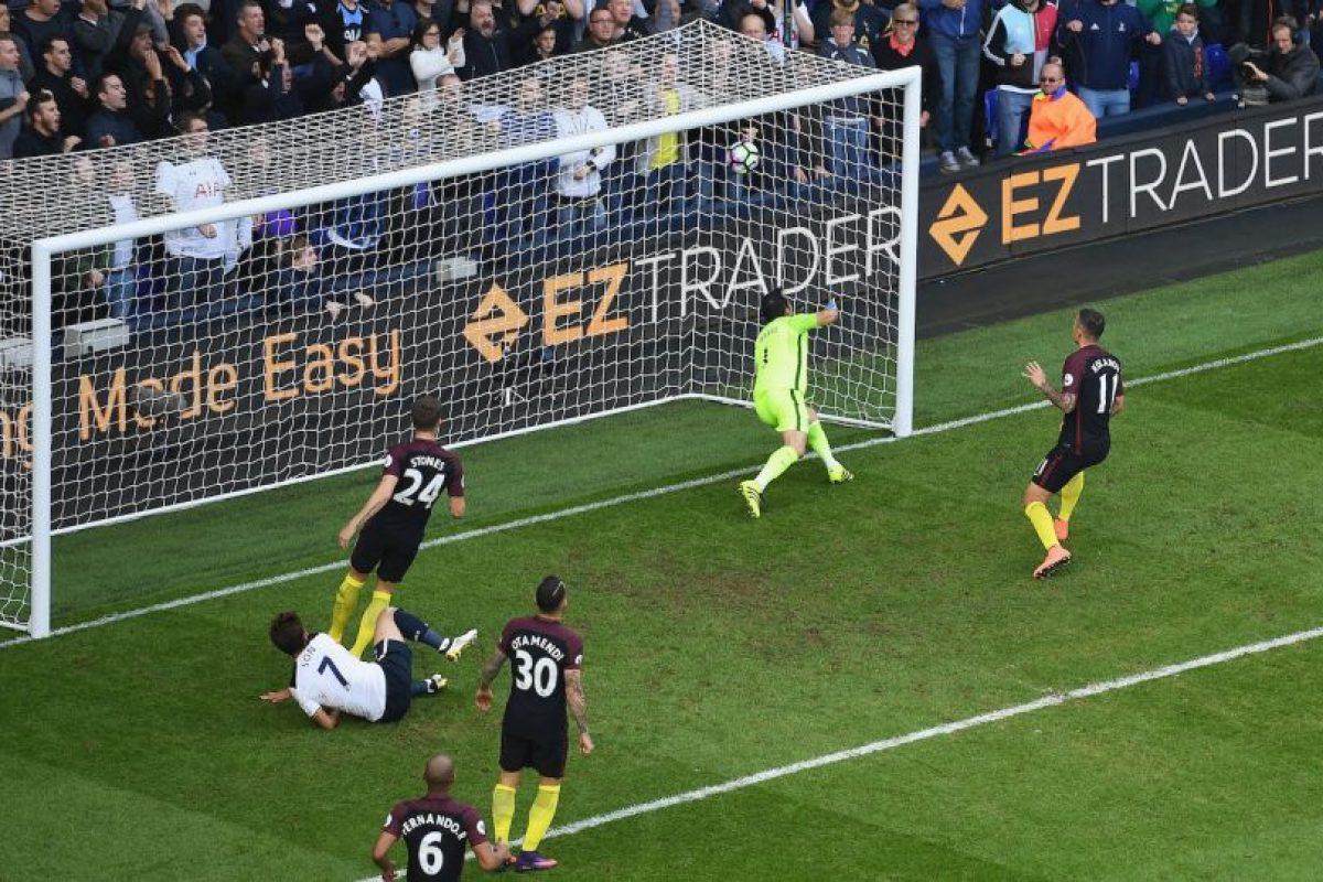 Tottenham fue el segundo partido sin ganar de Manchester City. Cayeron por 2 a 0. Imagen Por: