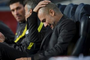 Pep Guardiola no lo está pasando nada de bien y ya suma seis partidos sin ganar. Foto:Getty Images. Imagen Por: