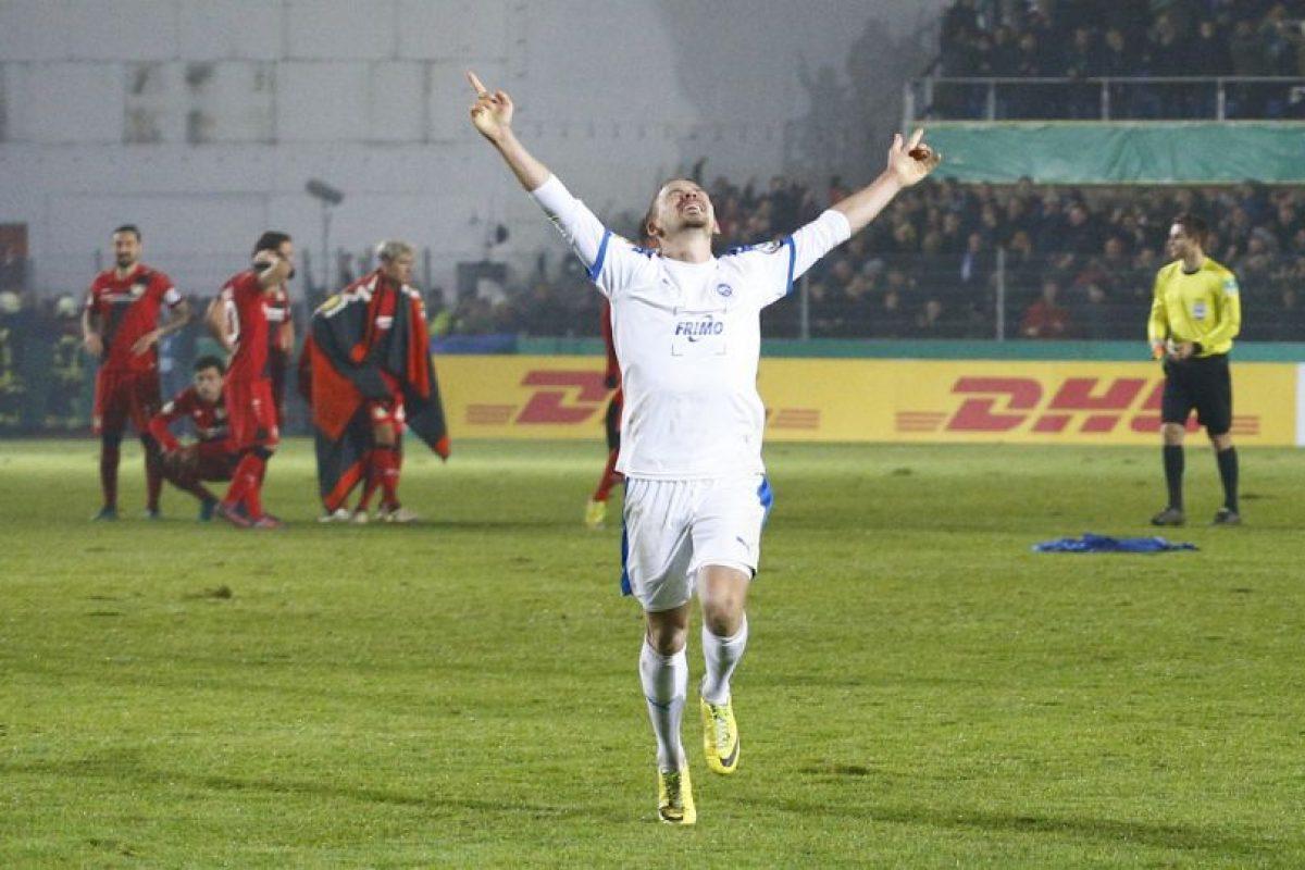 Bayer Leverkusen fue eliminado de la Copa de Alemania por un club de tercera división Foto:Getty Images. Imagen Por: