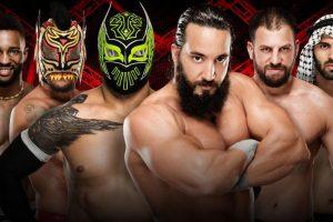 Kick-Off. La primera pelea sera entre Cedric Alexander, Lince Dorado y Sin Cara vs. Tony Nese, Drew Gulak y Ariya Daivari Foto:WWE. Imagen Por: