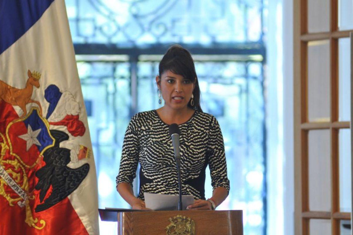 Karen Rojo, alcaldesa reelecta por Antofagasta. Foto:AgenciaUno. Imagen Por: