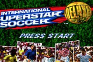 """International Super Star Soccer, de Konami, años 90`s, consola """"Super Nintendo"""". Muchos de los jugadores de videojuegos de fútbol de hoy, empezamos probando este gran clásico donde la selección alemana era la gran protagonista de la intro. Foto:Gentileza. Imagen Por:"""