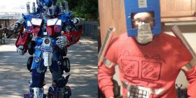 Ellos hicieron sus propios disfraces para Halloween y el resultado se transformó en viral