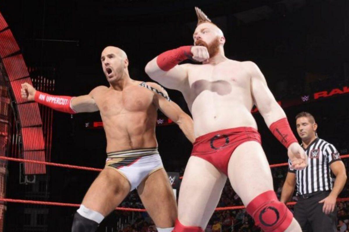 Se mide a Cesaro y Sheamus Foto:WWE. Imagen Por: