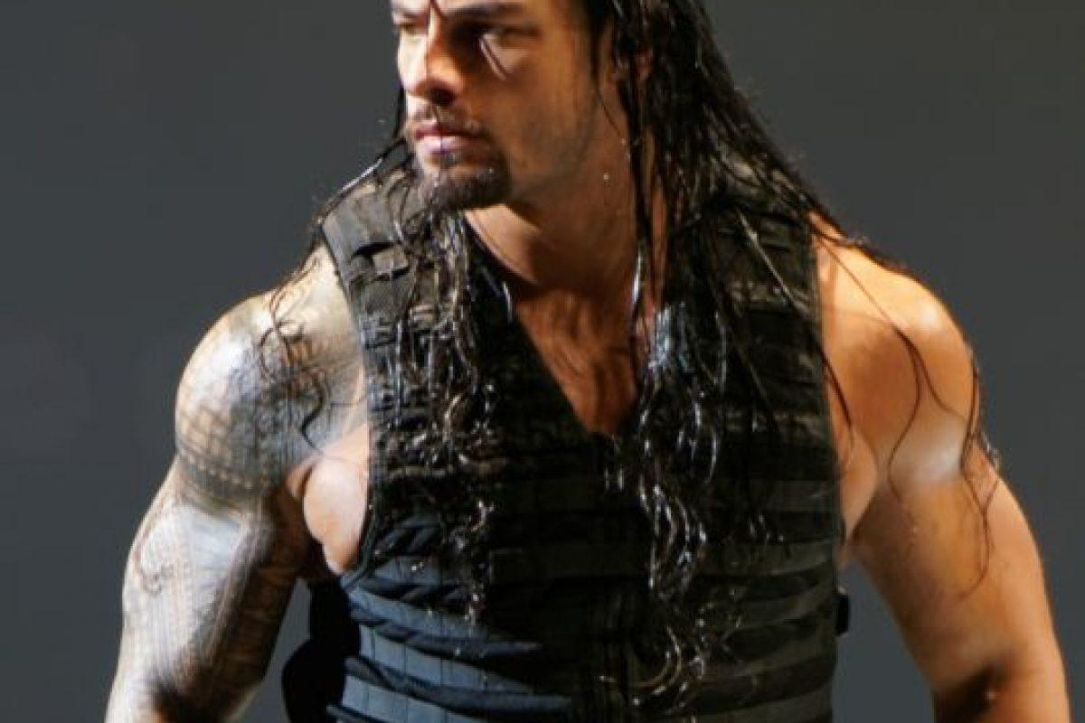 Roman Reigns defiende el Campeonato de Estados Unidos Foto:WWE. Imagen Por: