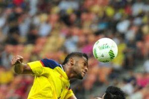 Miguel Borja, el goleador colombiano que compite con Lionel Messi Foto:Getty Images. Imagen Por: