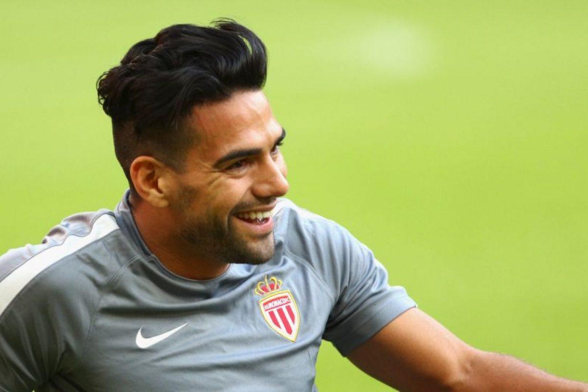 """Radamel Falcao: """"El Tigre"""". El también futbolista Daniel Ludueña lo llamó así después de un partido en el que marcó dos goles Foto:Getty Images. Imagen Por:"""