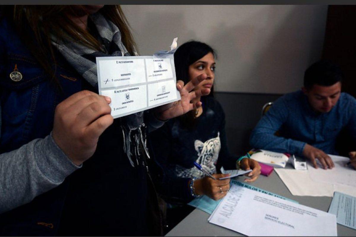 Se revisará cada voto emitido el 23 de octubre en Zapallar Foto:AGENCIAUNO. Imagen Por: