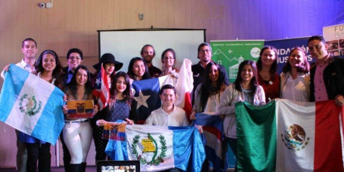 Jóvenes profesionales de 9 países llegan a Llanquihue para apoyar a emprendedores