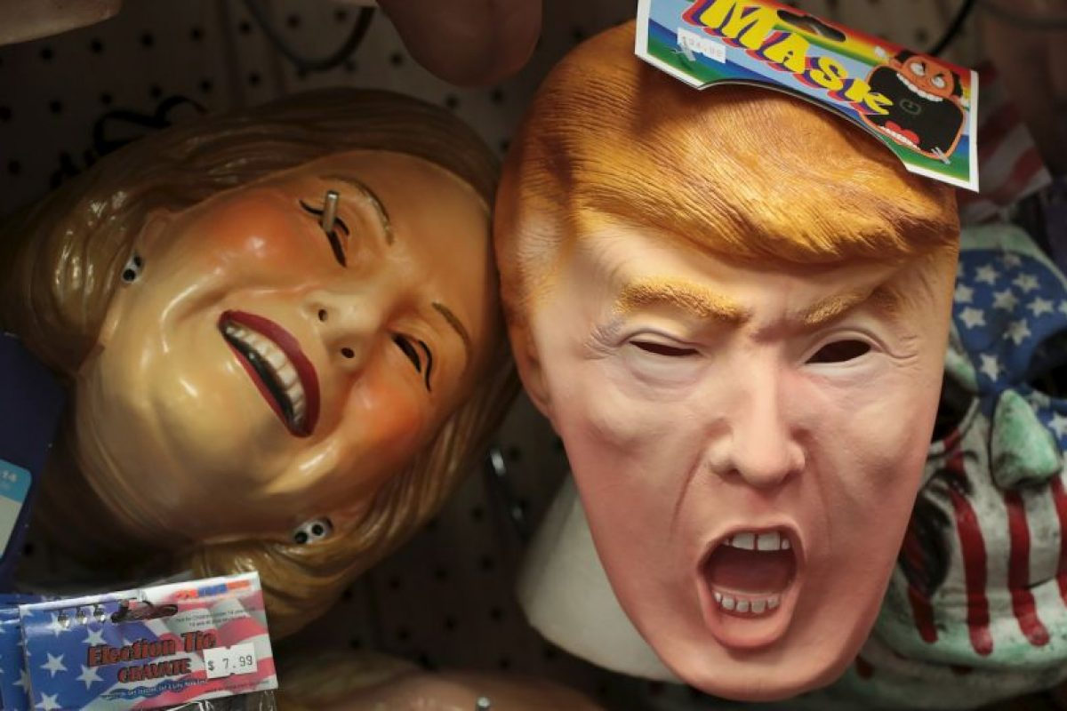 Este año, en Estados Unidos, el disfraz inspirado en los candidatos presidenciales más vendido fue el de Donald Trump Foto:Getty Images. Imagen Por: