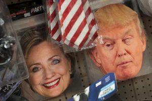 La máscara más vendida podría definir la elección presidencial Foto:Getty Images. Imagen Por: