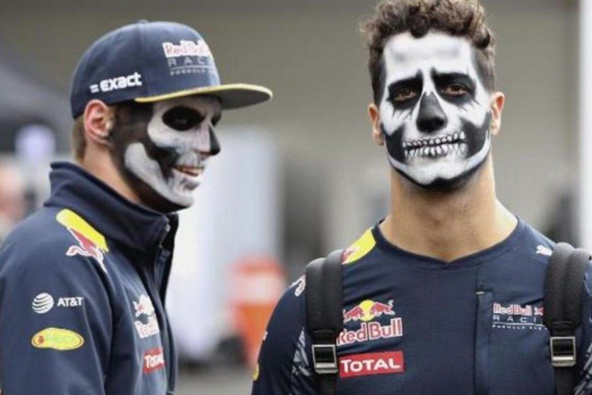Daniel Ricciardo y Max Verstappen (pilotos de F1) Foto:Instagram. Imagen Por: