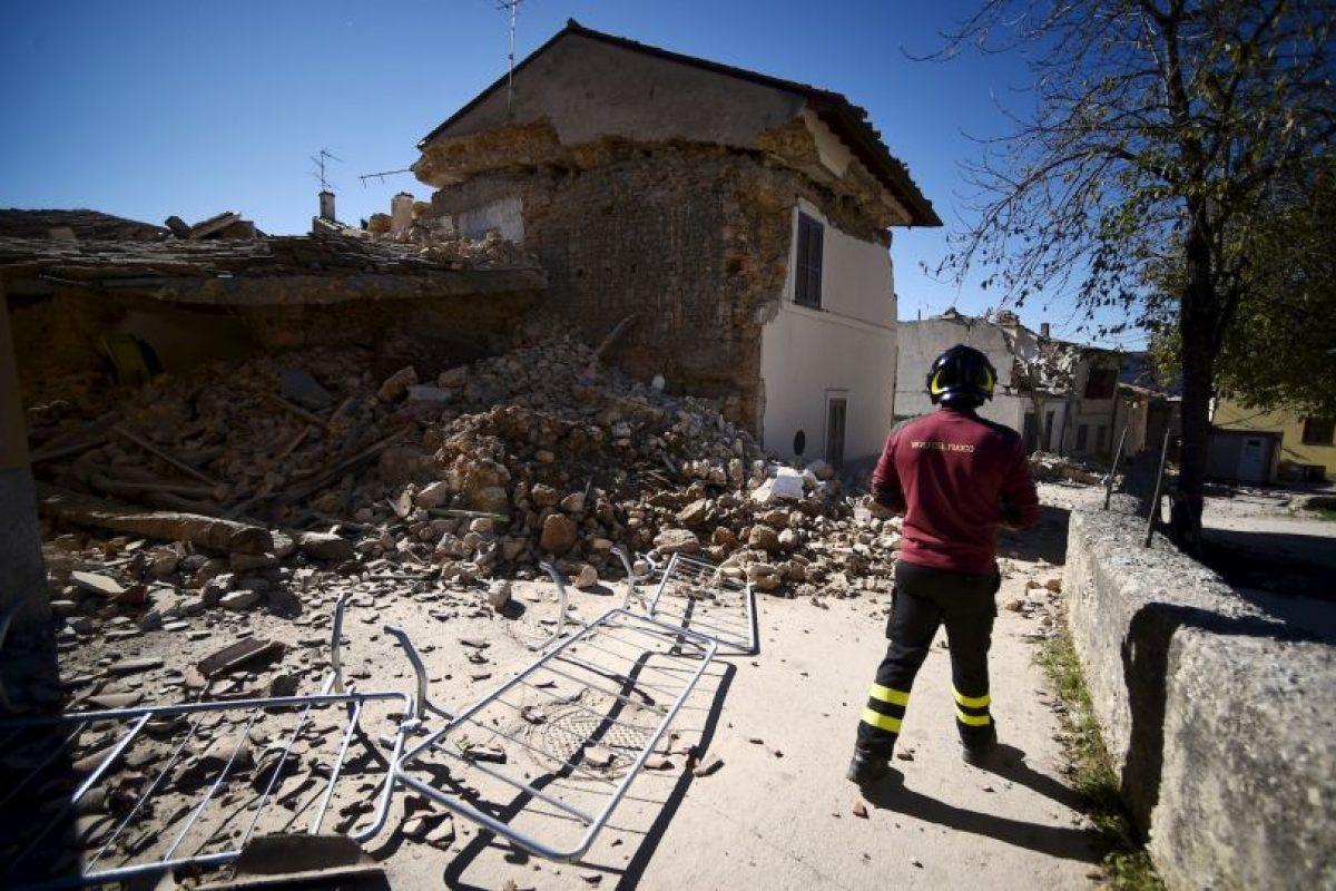 También afectó otras zonas, como San Pellegrino Foto:AFP. Imagen Por: