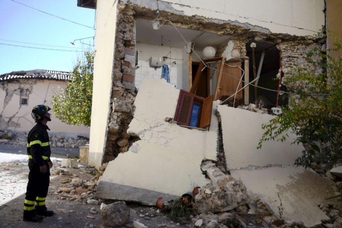 Ocurrió cuatro días después de los dos terremotos 5.5 y 6.1 Foto:AFP. Imagen Por: