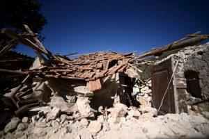 El terremoto del domingo fue de magnitud 6.6 Foto:AFP. Imagen Por: