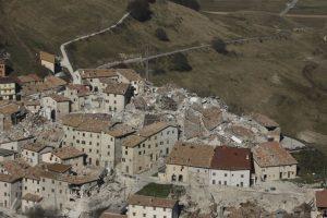 Así quedó el pueblo de Castelluccio Foto:AFP. Imagen Por: