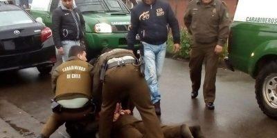 Carabinero fue detenido por sus propios colegas por trabajar en estado de ebriedad