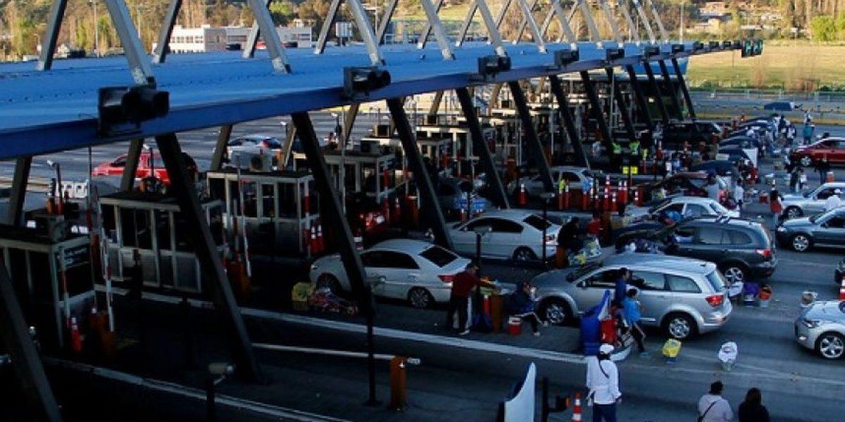Con vías 4x1 y peajes a $ 1.000 la Ruta 68 enfrenta retorno de vehículos a Santiago
