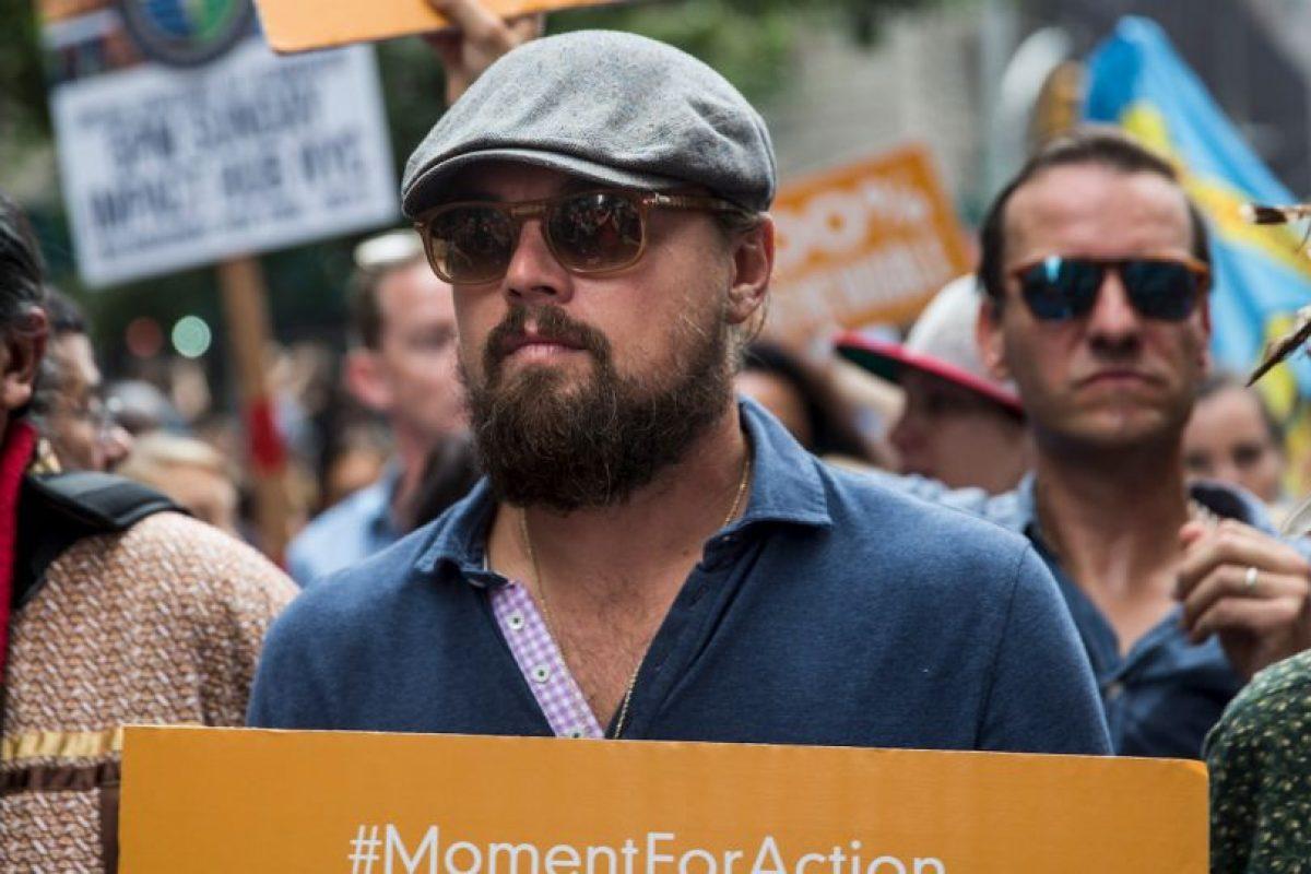 La lucha de Leonardo DiCaprio contra el cambio climático Foto:Getty Images. Imagen Por: