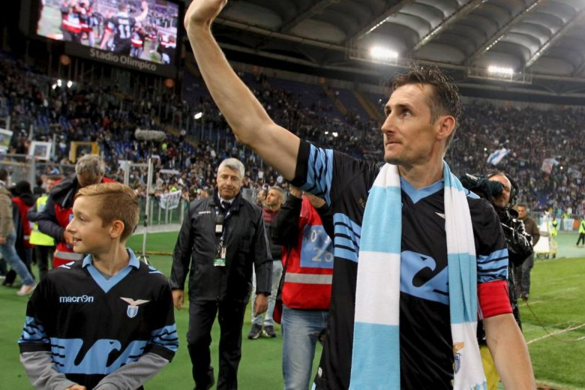 Se retira Miroslav Klose, el hombre que superó a Ronaldo Foto:Getty Images. Imagen Por: