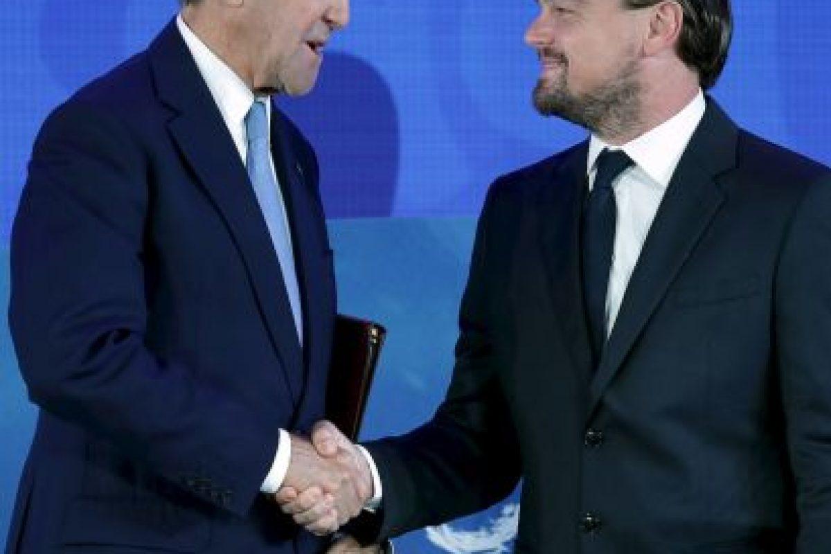 También se reunió con John Kerry, secretario de Estado de Estados Unidos Foto:Getty Images. Imagen Por: