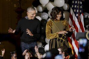 Fue en su última celebración de Halloween en la Casa Blanca. Imagen Por: