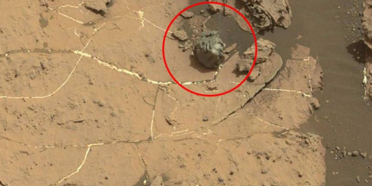 El alienígeno meteorito metálico que despertó la curiosidad del robot Curiosity