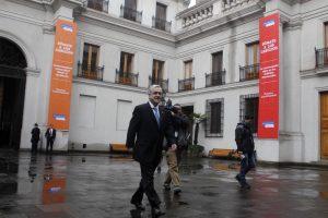 """""""La elección municipal fue un gran primera paso para Chile Vamos hacia el cambio que Chile necesita"""", dijo el ex Mandatario. Foto:Agencia UNO. Imagen Por:"""