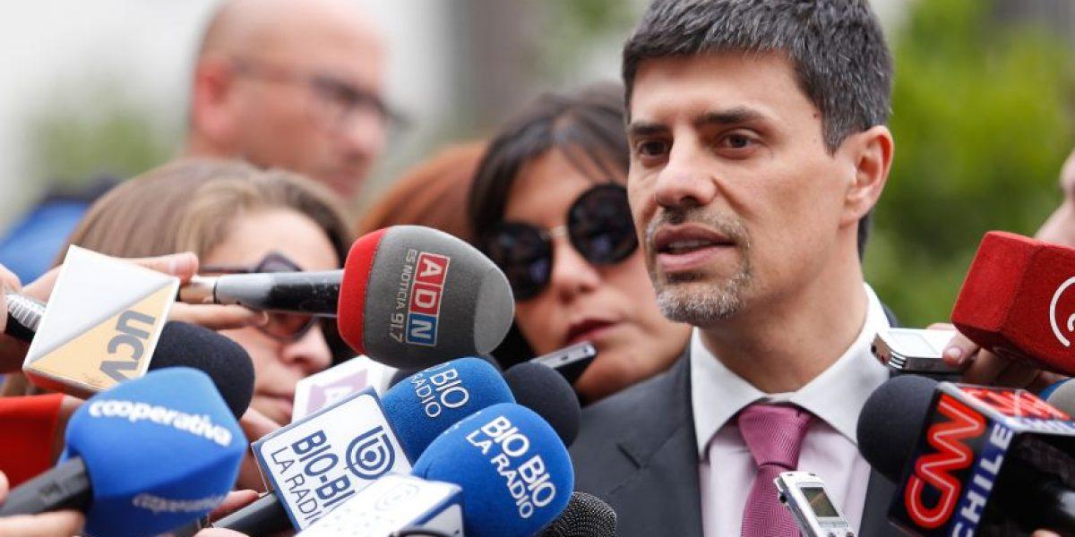 Ministro Díaz tras reunión de gabinete: