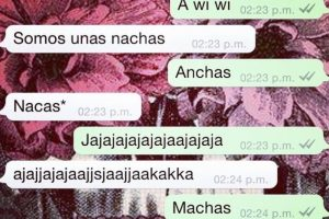 """Cuando el autocorrector los """"trollea"""" en WhatsApp. Foto:Facebook. Imagen Por:"""