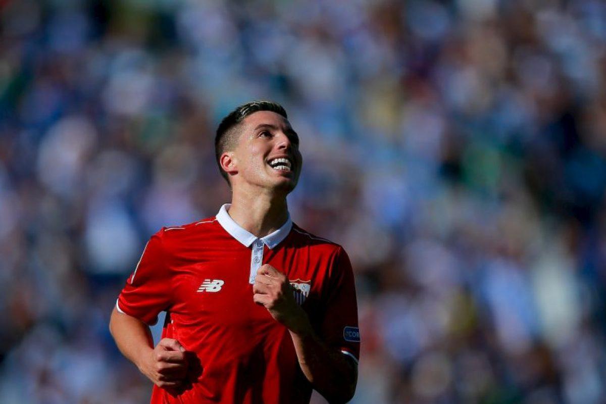 Samir Nasri. Salió por la puerta de atrás de Manchester City y ahora es titular indiscutible en Sevilla Foto:Getty Images. Imagen Por: