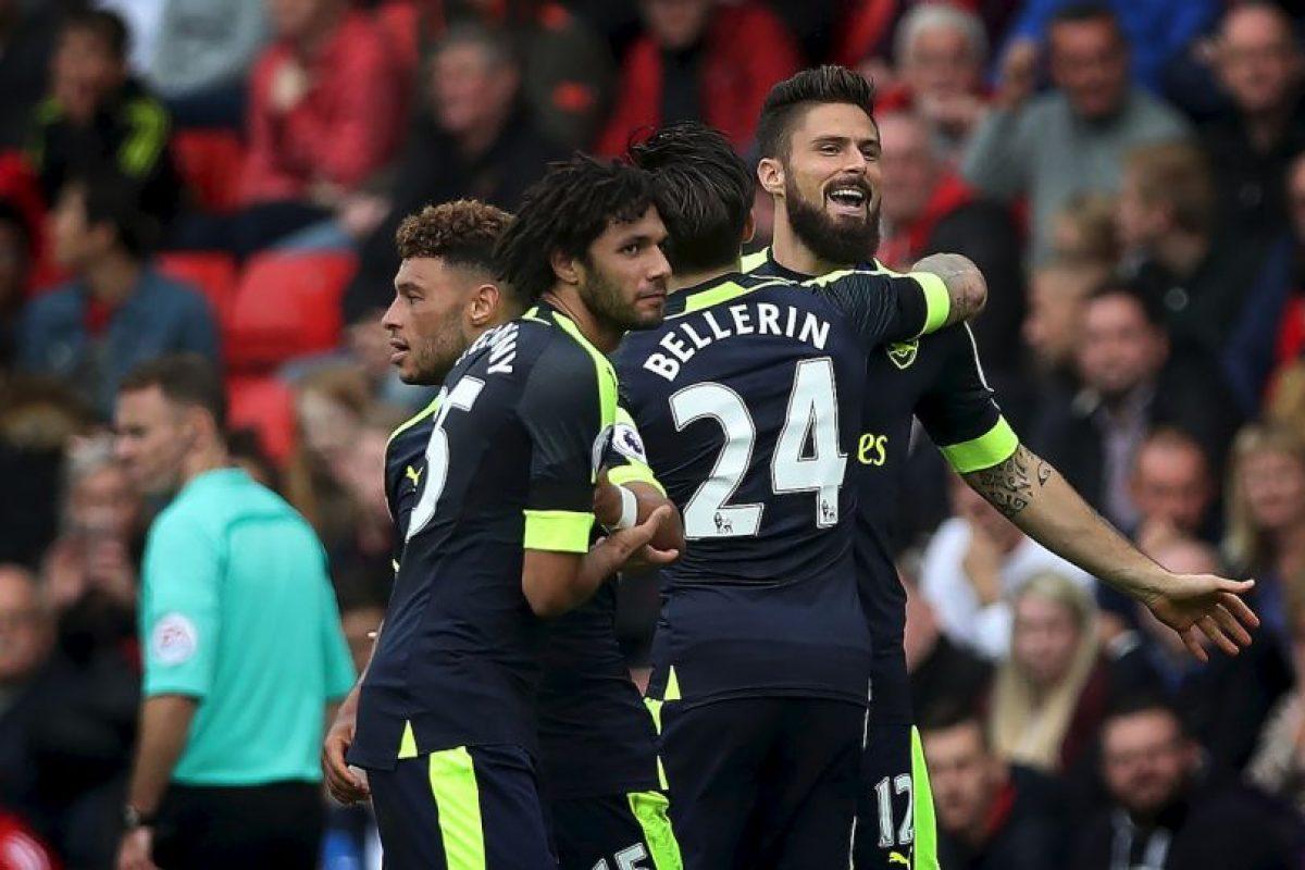 Arsenal Foto:Getty Images. Imagen Por:
