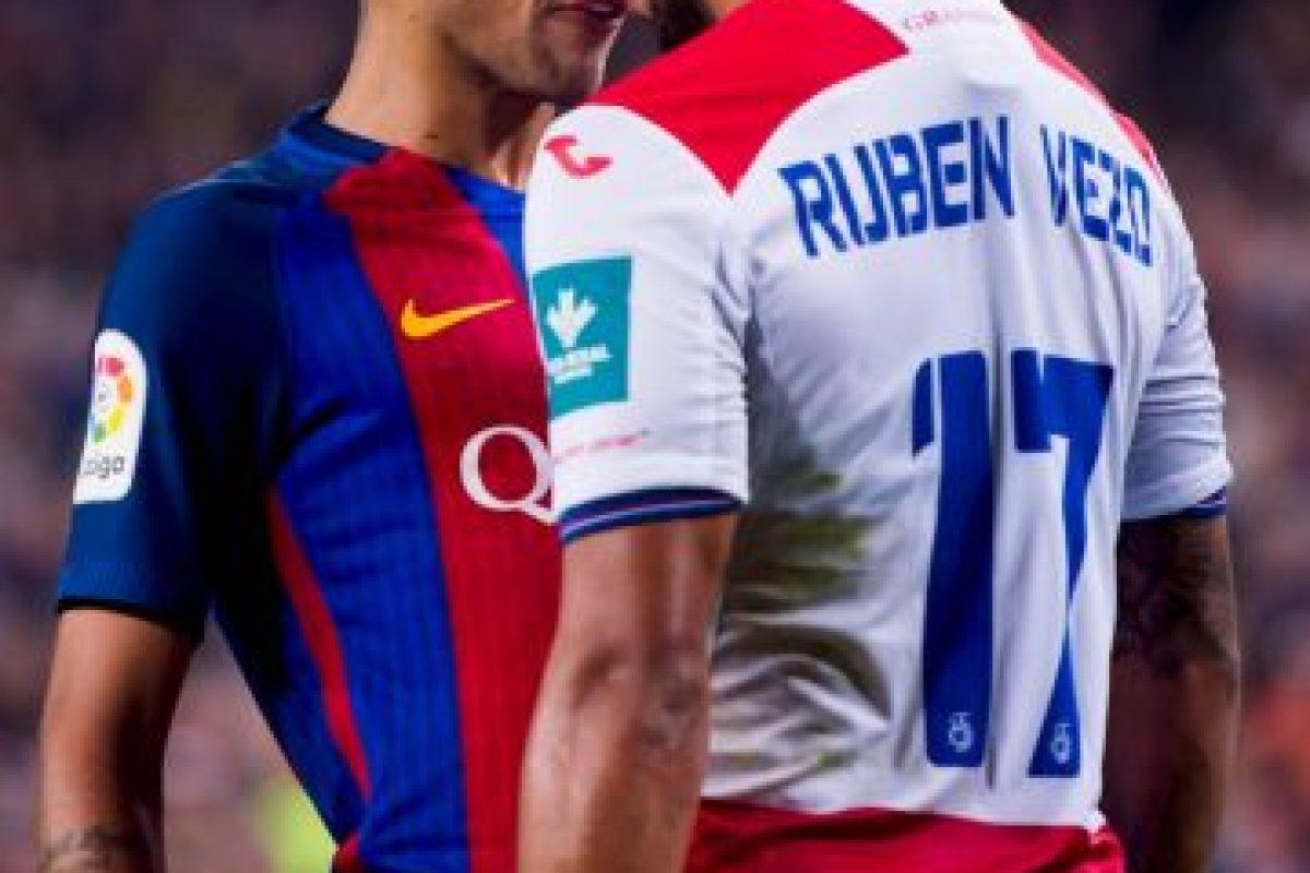 Neymar no se queda ajeno y provocó una pelea el pasado fin de semana con Rubén Vezo. Imagen Por: